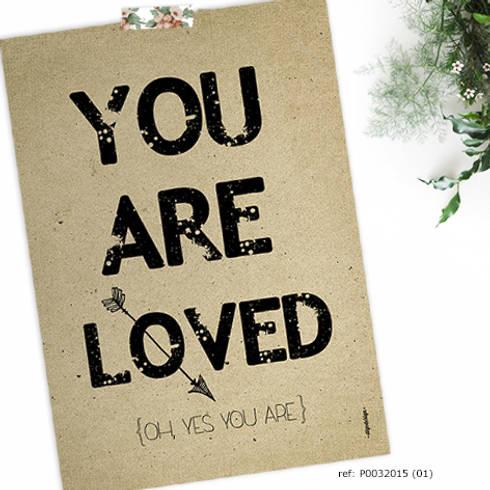 ★ poster ★ you are loved ★: Casa  por Digo