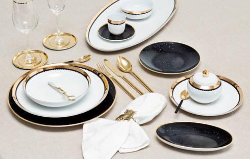 Saturn: Sala de jantar  por Porcel - Indústria Portuguesa de Porcelanas, S.A.