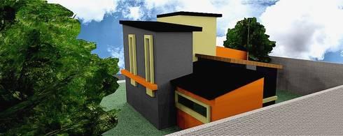 TOWNHOUSE GENESIS 75M2:  de estilo  por Ros Martinez Construcciones