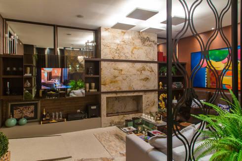 The Guest Room: Salas de estar modernas por Estúdio HL - Arquitetura e Interiores