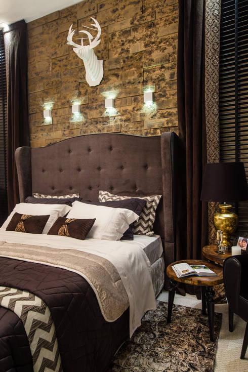 The Guest Room: Quartos  por Estúdio HL - Arquitetura e Interiores