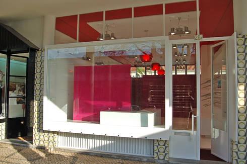 Exterior: Lojas e espaços comerciais  por Borges de Macedo, Arquitectura.