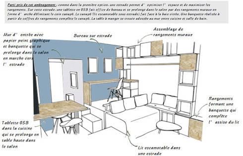 R novation d 39 un studio toulousain par marion albinet for Croquis salon