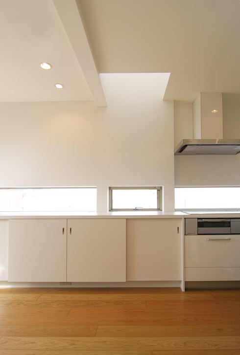 House in Izumiotsu: Mimasis Design/ミメイシス デザインが手掛けたキッチンです。
