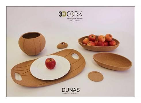 Coleção Dunas: Casa  por 3DCORK