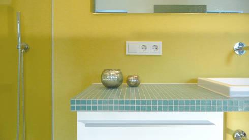 baden unterm dach von junghanns m ller architekten homify. Black Bedroom Furniture Sets. Home Design Ideas