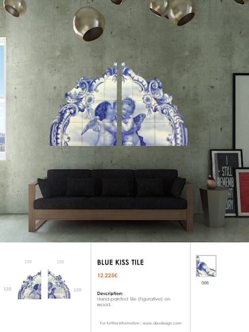 Old Blue Collection: Casa  por AL'ZU