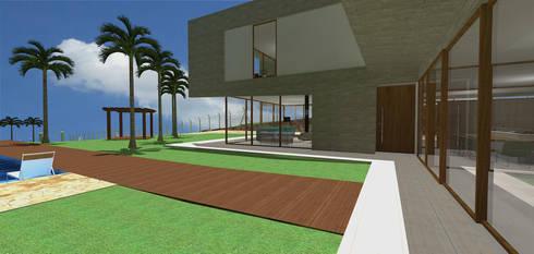 casa hc: Casas modernas por grupo pr | arquitetura e design