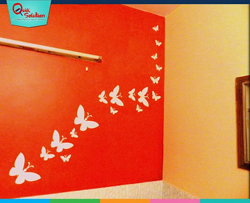 Wall Fashion: modern Nursery/kid's room by Quik Solution