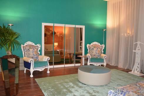 Loft - Casa Porto 2015 - DEPOIS:   por Antarte Mobiliário