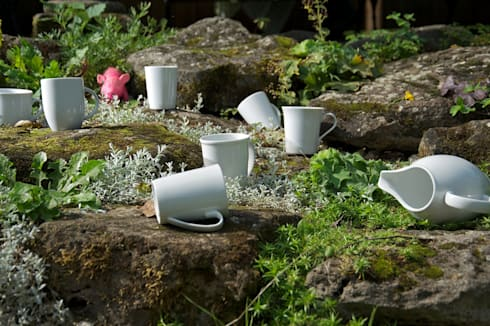 Porzellan Im Hinterhof weißes porzellan klassisch praktisch und unendlich kombinierbar