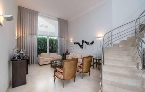 Living: Salas de estar modernas por aei arquitetura e interiores
