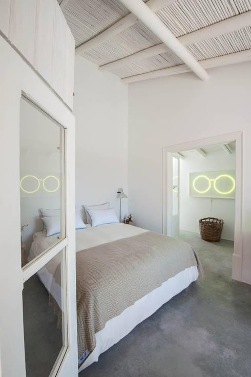 mediterrane Schlafzimmer von atelier Rua - Arquitectos