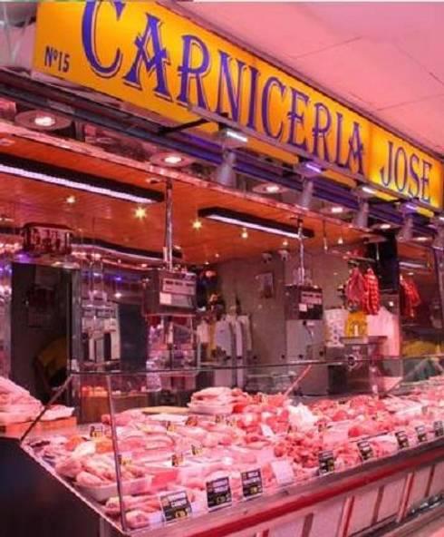 Iluminacion especial carniceria y charcuterias de luz - Carniceria en madrid ...
