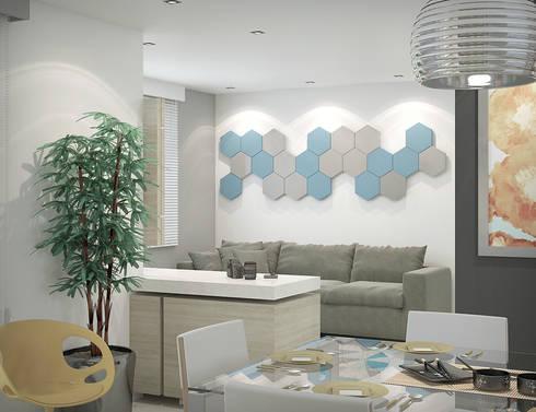 Apartamento #101: Quartos  por studio vtx