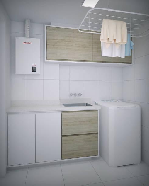 Apartamento #101: Cozinhas modernas por studio vtx