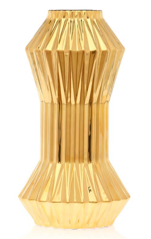 Metallic Gold & Copper: Casa  por Home Living Ceramics