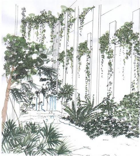 Hotel Tenerife:  de estilo  de GreenerLand. Arquitectura Paisajista y Tematización