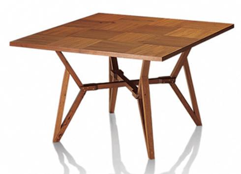 Mesa NOU: Sala de jantar  por LLUSSÁ Mobiliário de design