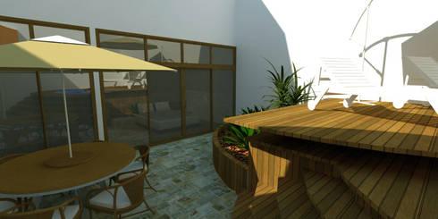 Jardim no Loft: Jardins modernos por Studio 21