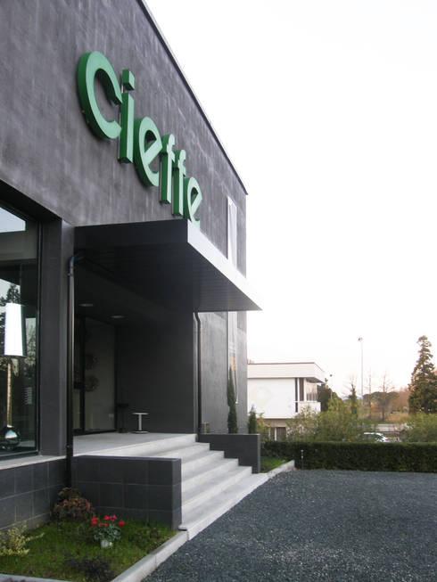 Showroom cieffe arredamenti restyling facciata di for Cieffe arredamenti