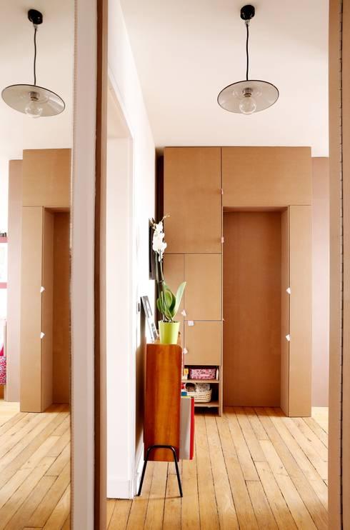 7 id es pour meubler intelligemment un petit appartement. Black Bedroom Furniture Sets. Home Design Ideas