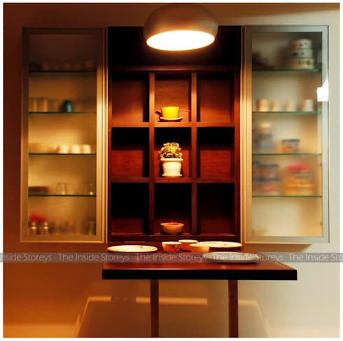 Aishwariyam Greens, Pune: asian Kitchen by The Inside Storeys