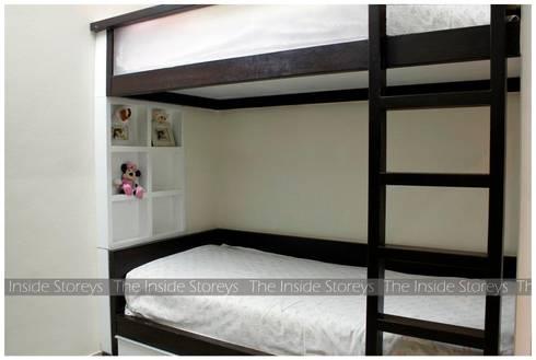 Aishwariyam Greens, Pune: asian Bedroom by The Inside Storeys