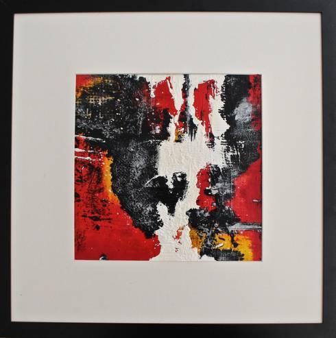 I'm on fire: Arte in stile  di Simona Messina | Velvet Art Gallery