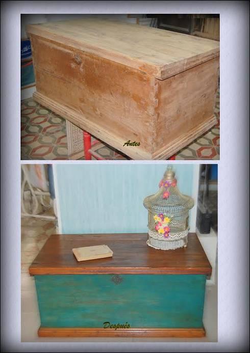 muebles reciclados albentosa
