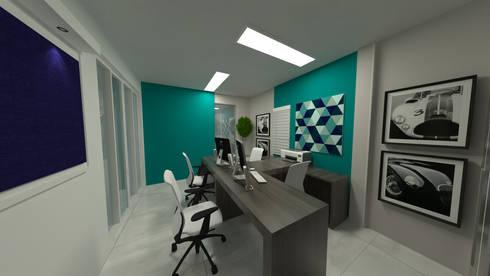CA01: Espaços comerciais  por Nankyn Arquitetura & Consultoria