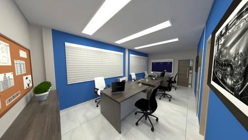 CA01: Edifícios comerciais  por Nankyn Arquitetura & Consultoria