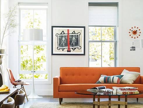 Bantam Sofa : Salas de estilo moderno por Design Within Reach Mexico