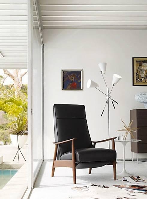 Milo Baughman Recliner 74 : Salas de estilo moderno por Design Within Reach Mexico