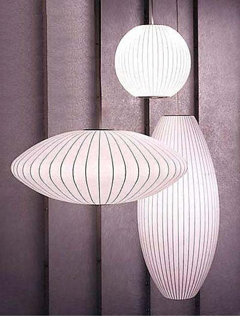 Nelson Bubble Lamps  : Hogar de estilo  por Design Within Reach Mexico