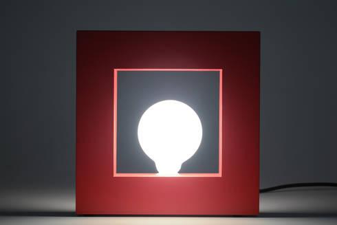 Luminária Frame: Quarto  por Amora Design