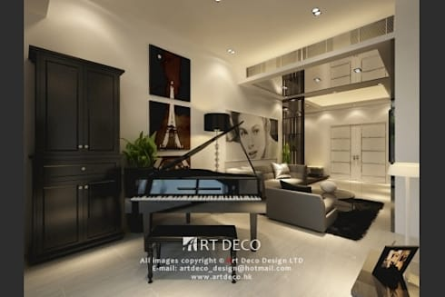 Art Deco Design Ltd. -  Casa Marina: classic Living room by Art Deco Design Ltd.