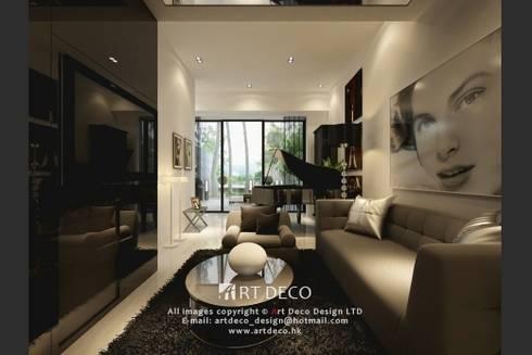 Art Deco Design Ltd.— Casa Marina: classic Living room by Art Deco Design Ltd.