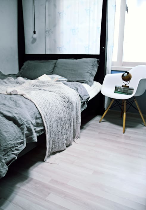 전셋집 4년 셀프인테리어 self interior : 13월의 블루 의  침실