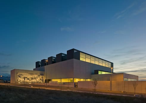 Nueva biblioteca p blica del estado segovia de cano y - Biblioteca publica de segovia ...