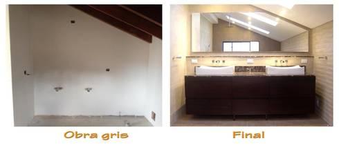 Condominio el carreton, casa 65:  de estilo  por Direnueva S.A.S