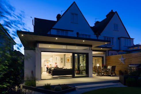 Broadgates Road: modern Houses by Granit Architects