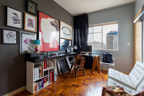 OPEN HOUSE | ALBINO PAPA: Escritório e loja  por Casa de Valentina