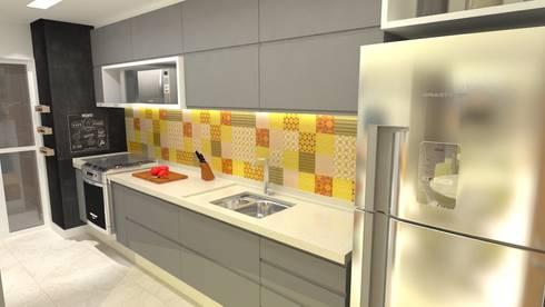 Cozinha: Cozinhas modernas por Arquitetura do Brasil
