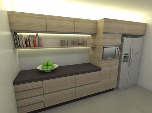Casa - Vicente Pires/DF: Cozinhas modernas por Arquitetura do Brasil
