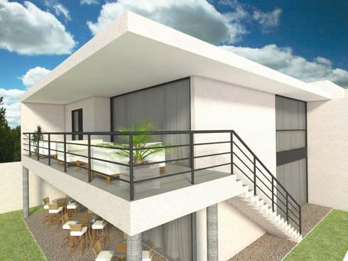 Casa - Vicente Pires/DF: Casas modernas por Arquitetura do Brasil