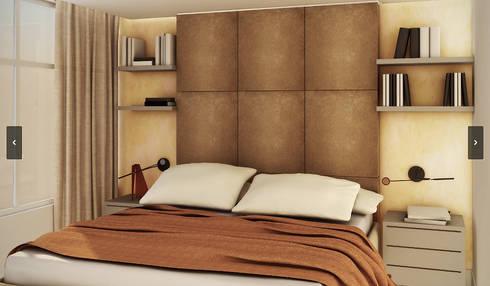 Apartamento - 316 Norte - Brasília/DF: Quartos  por Arquitetura do Brasil