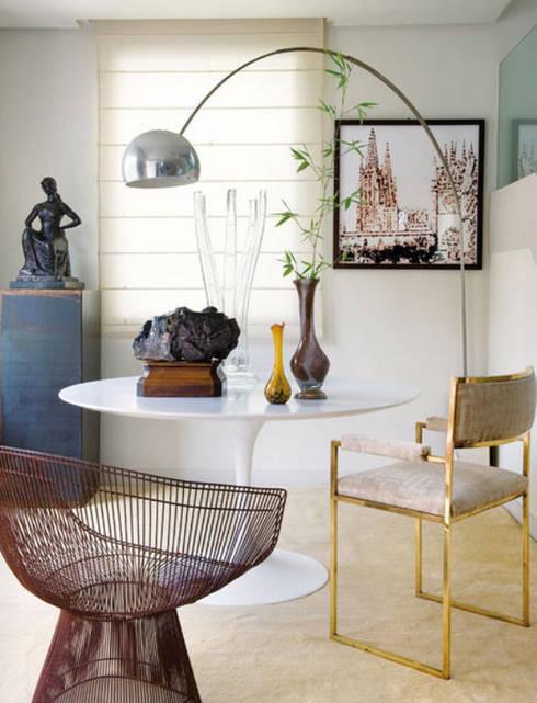 Modern familiar duplex: Comedores de estilo ecléctico de Estudio de Arquitectura Teresa Sapey