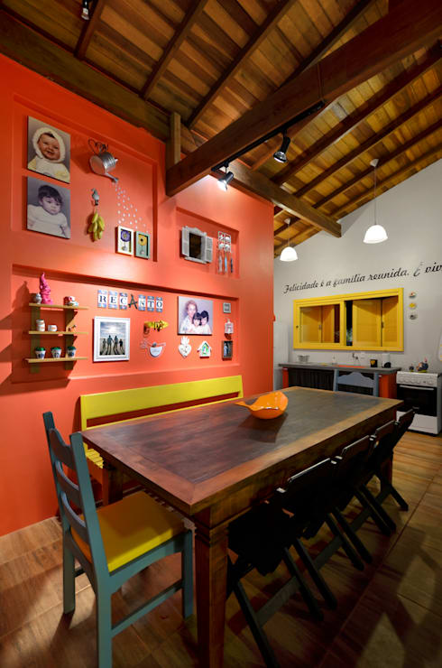 Dining room by Arquitetando ideias
