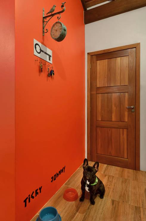 Corridor and hallway by Arquitetando ideias